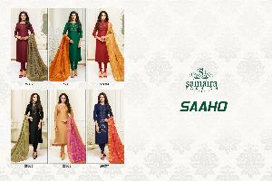 Embroidered Silk Suit - Manufacturers, Suppliers & Exporters in India
