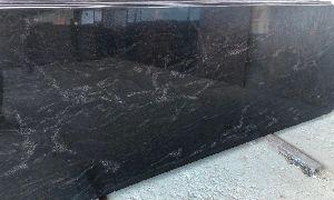 River Black Granite Slab