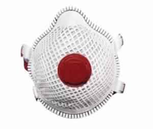 Anti wrinkle easy breath mesh mask