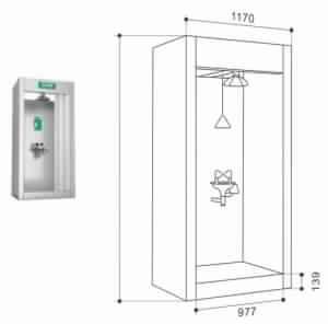 Emergency Shower Eyewash Room