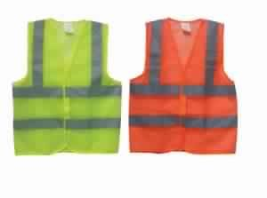 Safety Vest Polyester Mesh