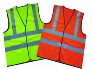 Safety Vest Polyester Tricot