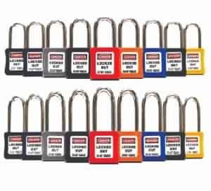 Ultra Lightweight Safety Lockout Padlock