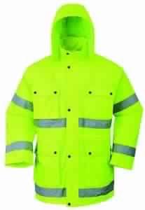 Winter jacket reflective