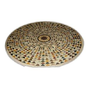 Overlay Stone Mosaic Table Top