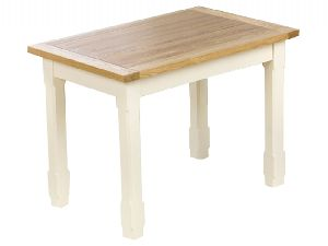 Natural Ash Wood Dining Table