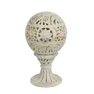 Globe Shaped Candle Holder