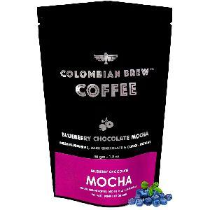Blueberry Chocolate Mocha