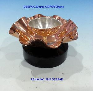 Copper Plated Diya