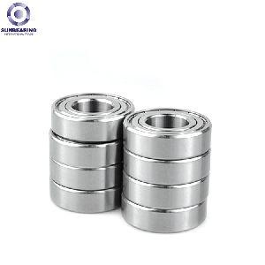 Sunbearing Deep Groove Ball Bearing 6300 Sliver 10*35*11mm Chrome Steel Gcr15