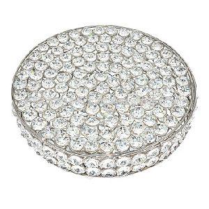 Iron Silver Crystal Box