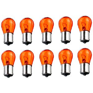 Vespa Px Indicator Tail Light 12 Volt 21 Watt Offset Pins Orange Bulb 11 X 41
