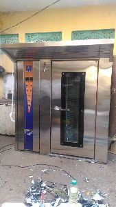 Industrial Electric Operated Rotary Rack Oven