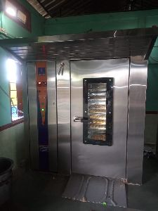 GAS OPERATED ROTARY OVEN