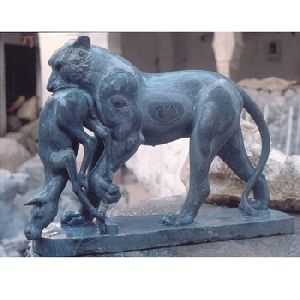 Marble Stone Figure Lion Statue