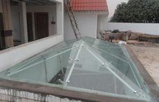 Glass Canopy Hardware System