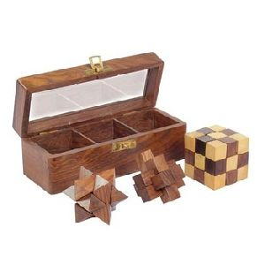 Wooden Puzzle Game Plate Tray Educational Toy