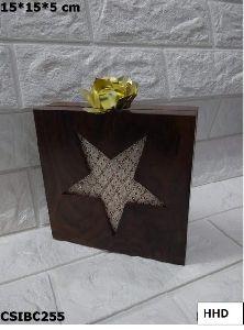 Wooden Box Clutch