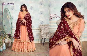 Designer Partywear Sharara Suits