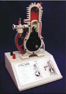 Model, Petrol Engine, Two Stroke