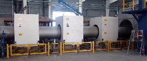 Induction Pipe Heating System