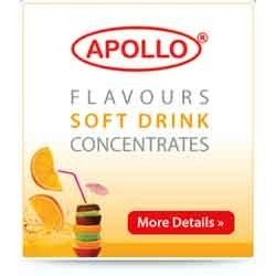 Apollo soft drink concentrate/favours