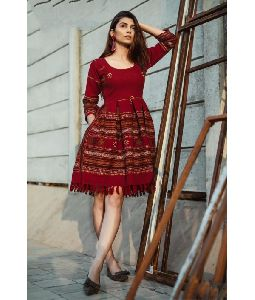 New Attractive Digital Printed Kurtis