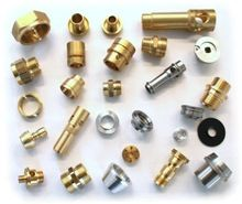 Brass, Steel And Aluminum Turned Parts