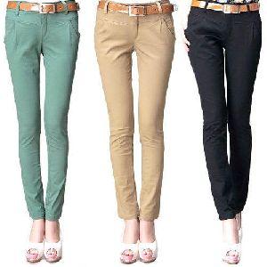 Ladies Cotton Trousers