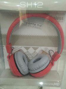 Headphone red colour