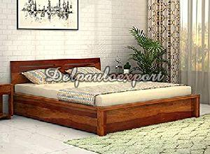 Queen Size Wooden Bed