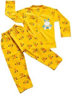 Kids Full Sleeve Night Suit