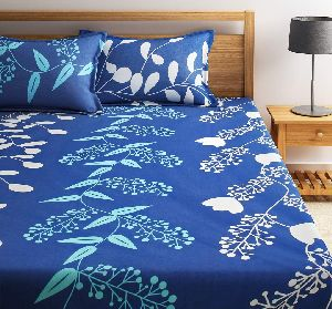Cotton Printed Bed Sheets