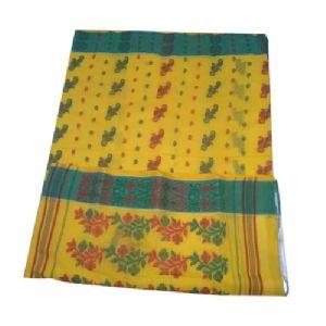 Cotton Tant Jamdani Saree
