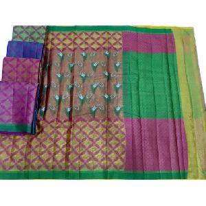 Cotton Tissue  Saree