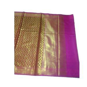 Magenta Banarasi Wedding Saree