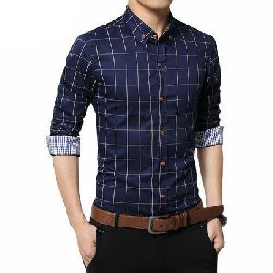 fcb1e3917 Mens Cotton Check Shirts - Manufacturers, Suppliers & Exporters in India