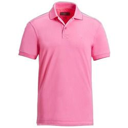 Mans Pink Polo T-shirt