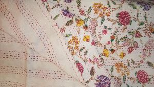 Embroidered Kantha Bed Covers
