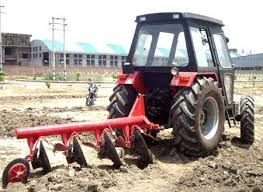 Disc Ploughing