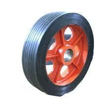 rubber bonded wheel