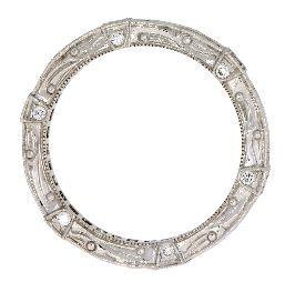 1.53 Ct Diamond & 18KT White Gold Ring