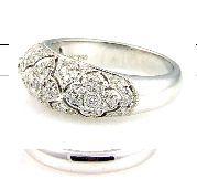 .51 Ct Diamond & 18KT White Gold Ring