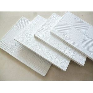 Pvc Laminated Gypsum Ceiling Tiles - Manufacturers, Suppliers