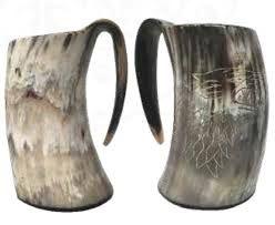 Drinking Horn Mug