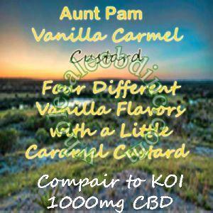 Aunt Pam Vanilla Carmel Custard (1000 mg)