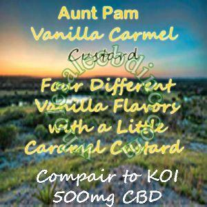 Aunt Pam Vanilla Carmel Custard (500 mg)