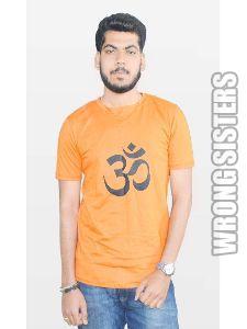 Sacred Om Printed T-shirt