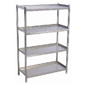 4 Slab Stainless Steel Rack