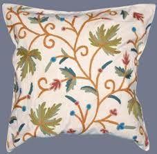 Kashmir Crewel Pillow Covers